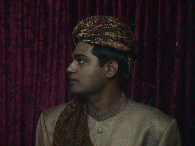 Rezwan wearing Pagri & Sherwani